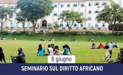 Seminario sul diritto africano